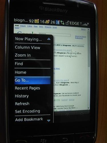 """alt=""""BlackBerry Storm - Browser Menu"""""""