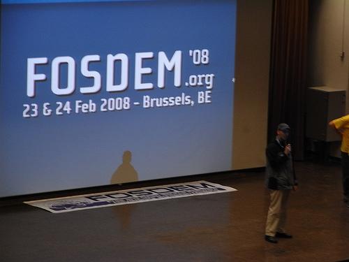 "alt=""Welcome to FOSDEM 08"""
