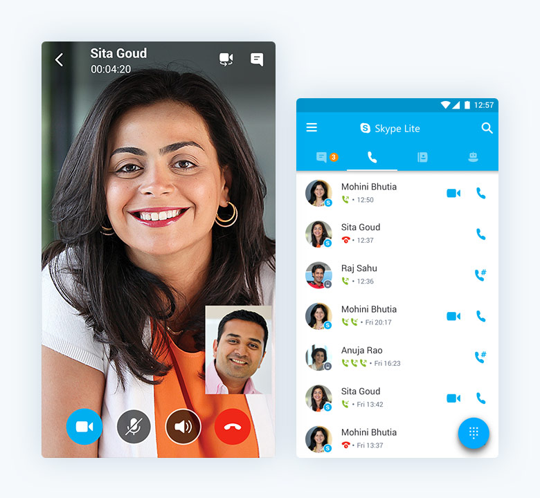 Microsoft เปิดตัว Skype Lite เพื่อผู้ใช้ในพื้นที่ความเร็ว ...