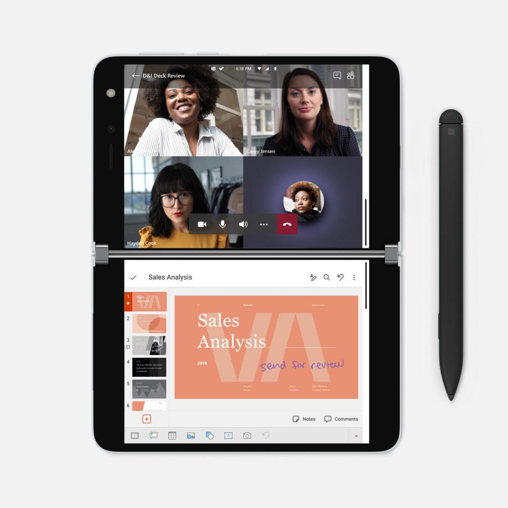 เก็บตก Surface Duo รองรับปากกาแต่ต้องซื้อแยก, ไม่มี NFC, ไม่รองรับ 5G | Blognone