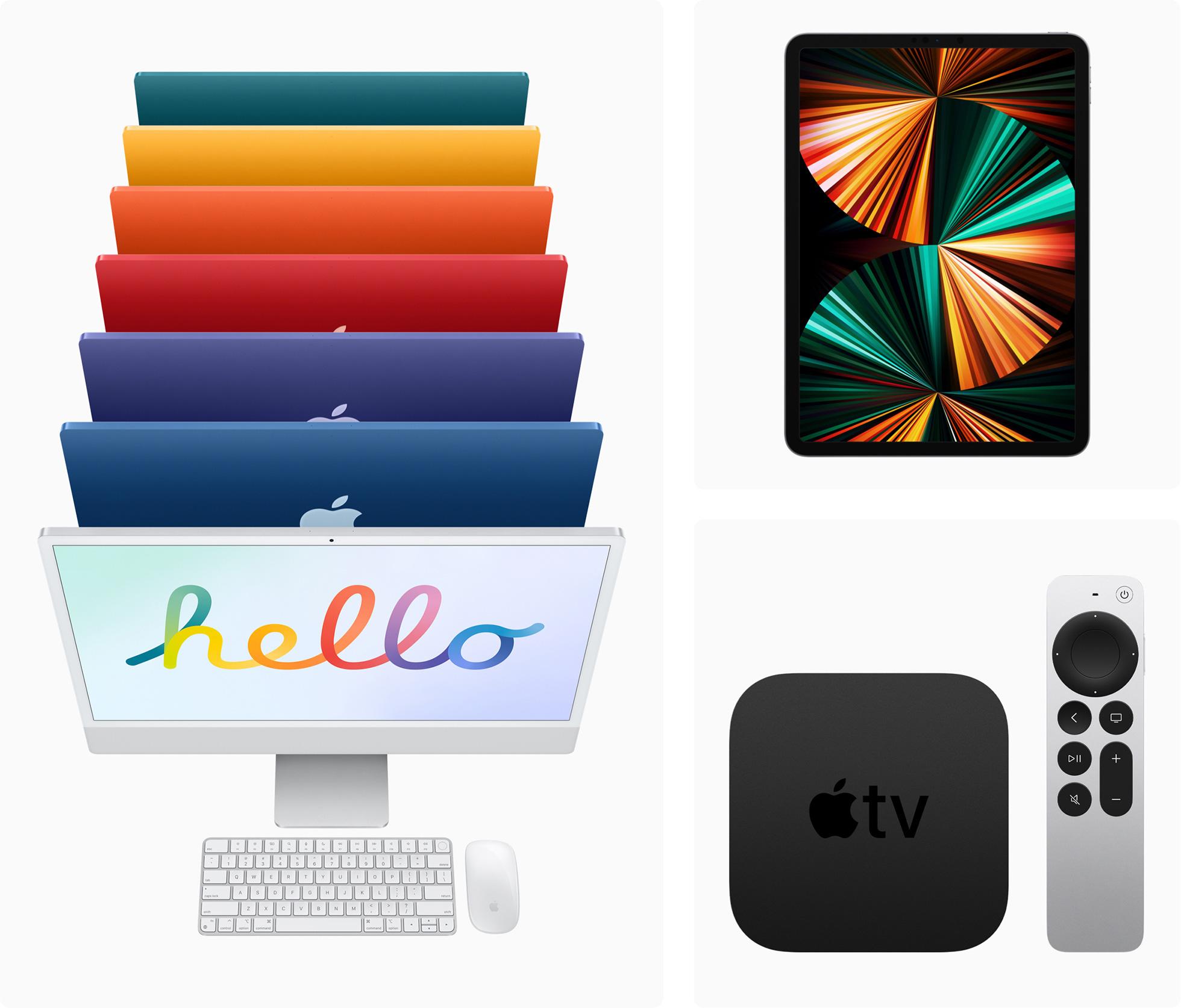 """alt=""""รูป iMac และ iPad Pro"""""""