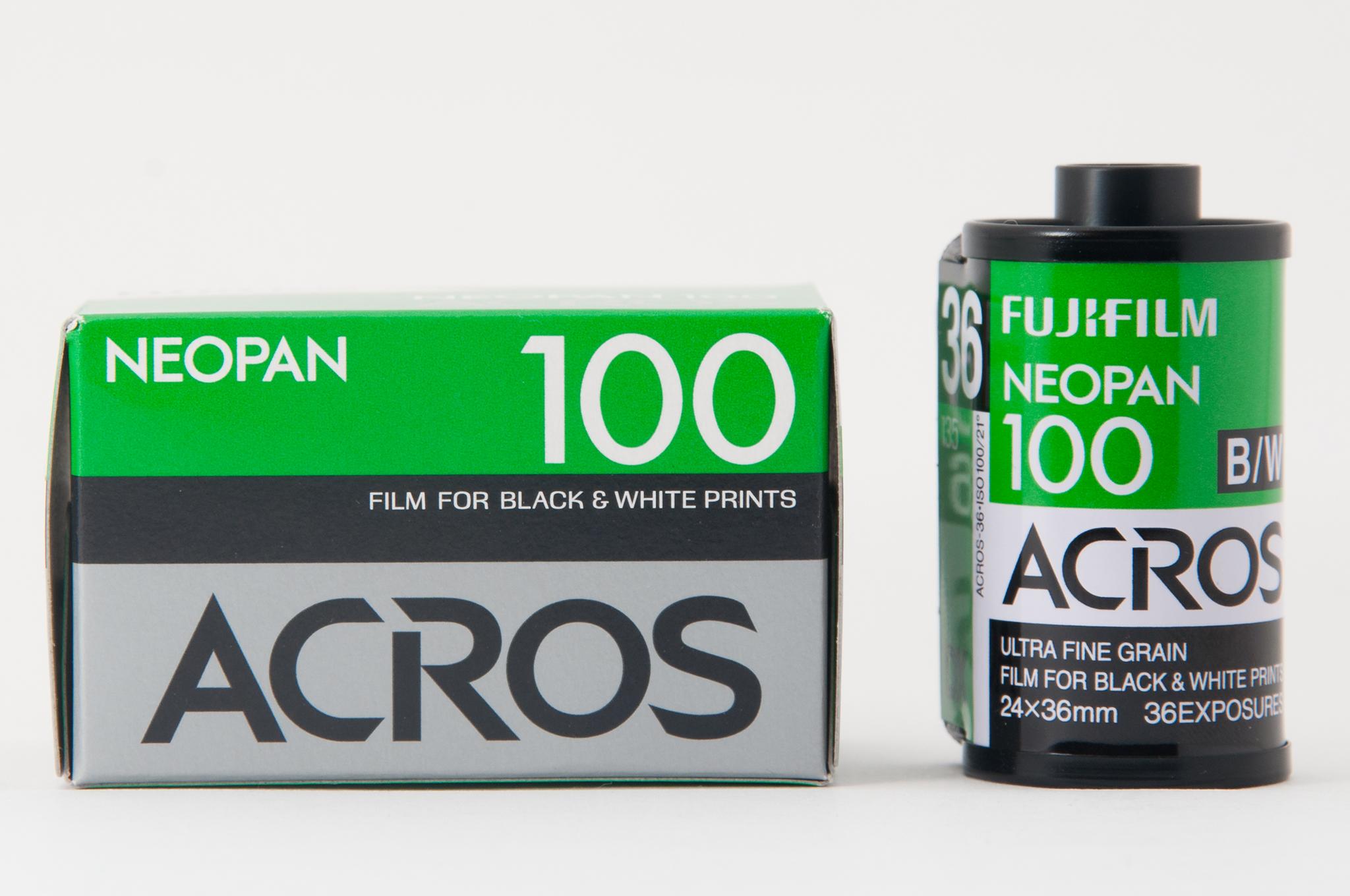 "alt=""Fujifilm Neopan 100 Acros"""