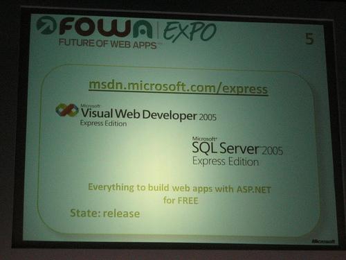 "alt=""Visual Web Developers Express"""