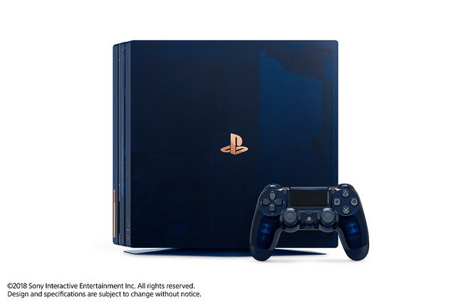 "alt=""500 Million Limited Edition PS4 Pro"""